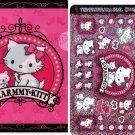 Sanrio Japan Charmmy Kitty Twinklekirara Seal and Folder by Bandai 2004 Kawaii