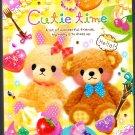 Q-Lia Japan Cutie Time Memo Pad (B) Kawaii