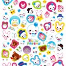 Q-Lia Japan Snow Friend Sticker Sheet from Letter Set Kawaii