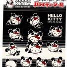 Sanrio Japan Hello Kitty Time to Relax Sticker Sheet 2007 Kawaii