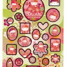 Sanrio Japan Hello Kitty Japanese Doll Sticker Sheet (A) 2007 Kawaii