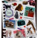Mind Wave Japan Memory Seal Sticker Sheet Kawaii