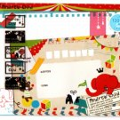 Mind Wave Japan Andrew Child Letter Set with Stickers Kawaii