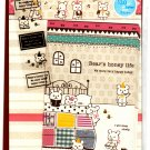 Mind Wave Japan Bear's Honey Life Letter Set with Stickers Kawaii