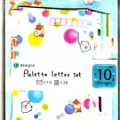 San-X Japan Hamster Palette Letter Set 2001 Kawaii