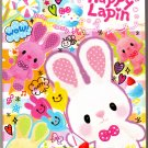 Pool Cool Japan Happy Lapin Memo Pad with Stickers Kawaii
