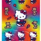 Sanrio Japan Hello Kitty and Teddy Sticker Sheet 2002 Kawaii