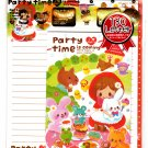 Crux Japan Party Time Letter Set with Stickers Kawaii
