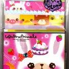Q-Lia Japan Ururun Animals Letter Set with Stickers Kawaii