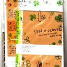Q-Lia Japan Like A Clover Letter Set with Stickers Kawaii
