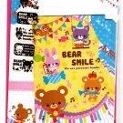 Mind Wave Japan Bear Smile Letter Set with Stickers Kawaii