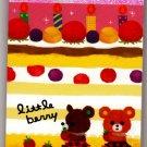 Mind Wave Japan Little Berry Mini Memo Pad Kawaii
