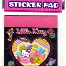 Sanrio Japan Hello Kitty Sticker Pad (A) 2010 Kawaii