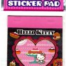 Sanrio Japan Hello Kitty Sticker Pad (B) 2010 Kawaii