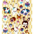 Sakura Japan Year of the Rabbit Puffy Sticker Sheet (C) Kawaii