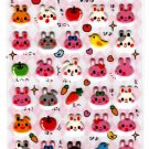 Sun Star Japan Lots of Rabbits Puffy Sheet (A) Kawaii
