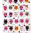 Sun Star Japan Lots of Rabbits Puffy Sheet (B) Kawaii