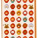 Phoenix Japan Red Riding Hood Sticker Sheet Kawaii