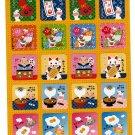 Sun Star Japan Year of the Cow Sticker Sheet (B) Kawaii