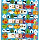 Ryu-Ryu Japan Happy Picnic Sticker Sheet Kawaii