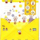 Daiso Japan Moshi Moshi Bear Letter Set with Stickers Kawaii