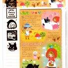 Kamio Japan Fairy Tale World Letter Set with Stickers (F) Kawaii