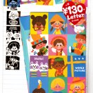 Kamio Japan World Picture Letter Set with Stickers Kawaii