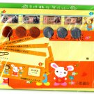 Crux Japan Animal Bank Letter Set with Stickers Rare Kawaii