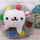 San-X + Green Camel Japan Nyanko Cat Toy Plush Keychain Strap (B) New with Tag Kawaii