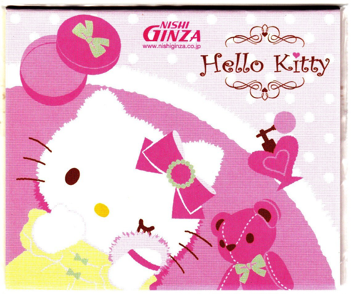 Sanrio Japan Hello Kitty Post-It Sticky Note Sheets 2007 Kawaii