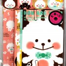 Q-Lia Japan MofuMofu Letter Set with Stickers Kawaii