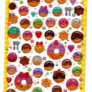 Q-Lia Japan Sweet Donuts Epoxy Sticker Sheet Kawaii