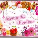 Mind Wave Japan Romantic Window Memo Pad with Sticker Kawaii