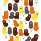 Bee Create Japan Alpaca Sticker Sheet Kawaii
