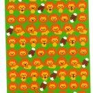 Bee Create Japan Lion Sticker Sheet Kawaii