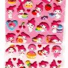 Sanrio Japan My Melody and Pastries Puffy Sticker Sheet 2010 Kawaii