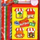 Phoenix Japan Hot Dog Bus Letter Set Kawaii