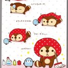San-X Japan Kireizukinseikatu Memo Pad with Stickers (A) Kawaii