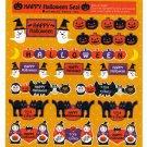 Oriental Berry Japan Happy Halloween Sticker Sheet Kawaii