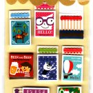 Mind Wave Japan Handmade Matchbox Sticker Sheet Kawaii