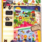 Mind Wave Japan Funny Funny Letter Set with Stickers (C) Kawaii