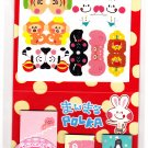Crux Japan Polka Index Seals Post-It Sticky Notes Kawaii