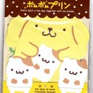 Sanrio Japan Pom Pom Purin and Muffin Letter Set with Stickers 2011 Kawaii
