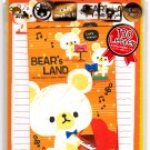 Crux Japan Bear's Land Letter Set with Stickers Kawaii