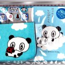 Q-Lia Japan Lovely Pandas Letter Set with Stickers and Washcloth Rare Kawaii