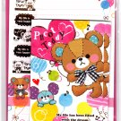 Mind Wave Japan Picot Teddy Letter Set with Stickers Kawaii