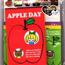Kamio Japan Apple Day Letter Set with Stickers Kawaii