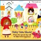 Kamio Japan Fairy Tale World Mini Memo Pad (P) Kawaii