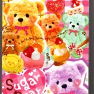Q-Lia Japan Sugar Bear Mini Memo Pad (E) Kawaii
