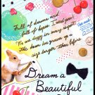 Crux Japan Dream a Beautiful Dream Mini Memo Pad Kawaii
